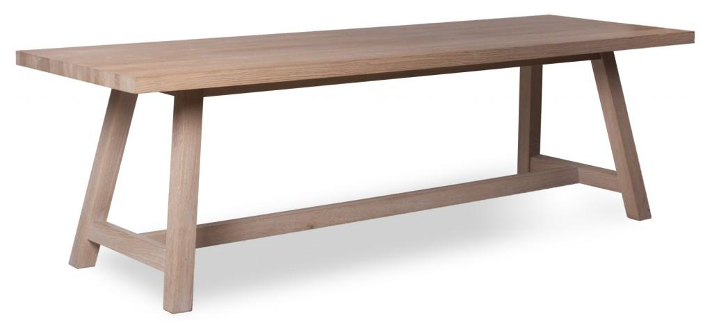 """Einrichtungstrends für Kantinen I Lange Tafeln als """"Community Tables"""" bis zu 4,5 Metern mit Starkfurnierplatten sind im Trend: hier der Tisch 30180 von Schnieder"""