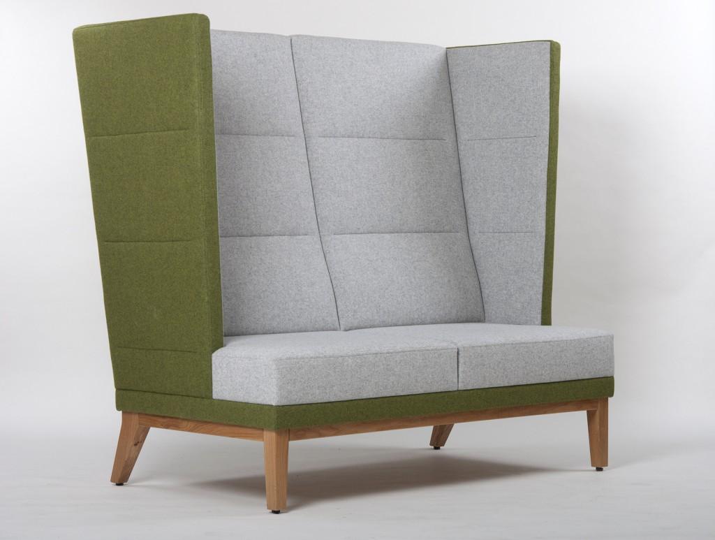 Loungemöbel I Toller Blickfang in jeder Lounge: das Schnieder Ohrensofa
