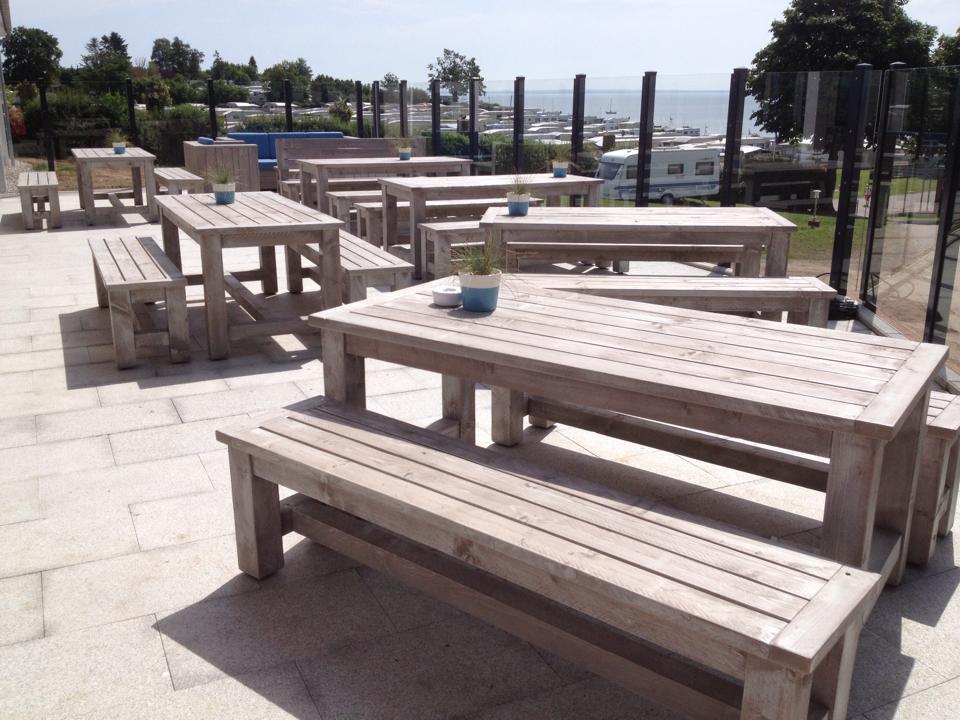 Terrassenmöbel Aus Bauholz Für Die Gastronomie I Schnieder