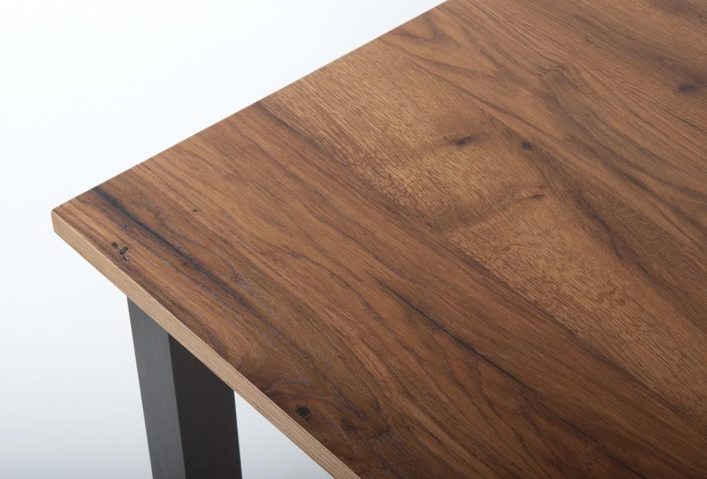 Tisch wie neu, aber aus Altholz