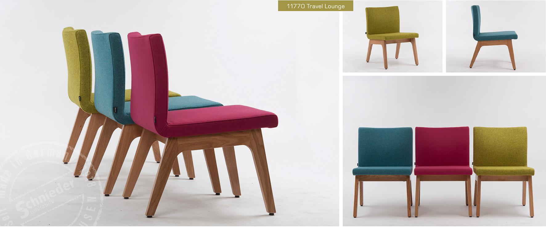 """Stühle mit Sitzschalen, die es """"auf sich"""" haben"""