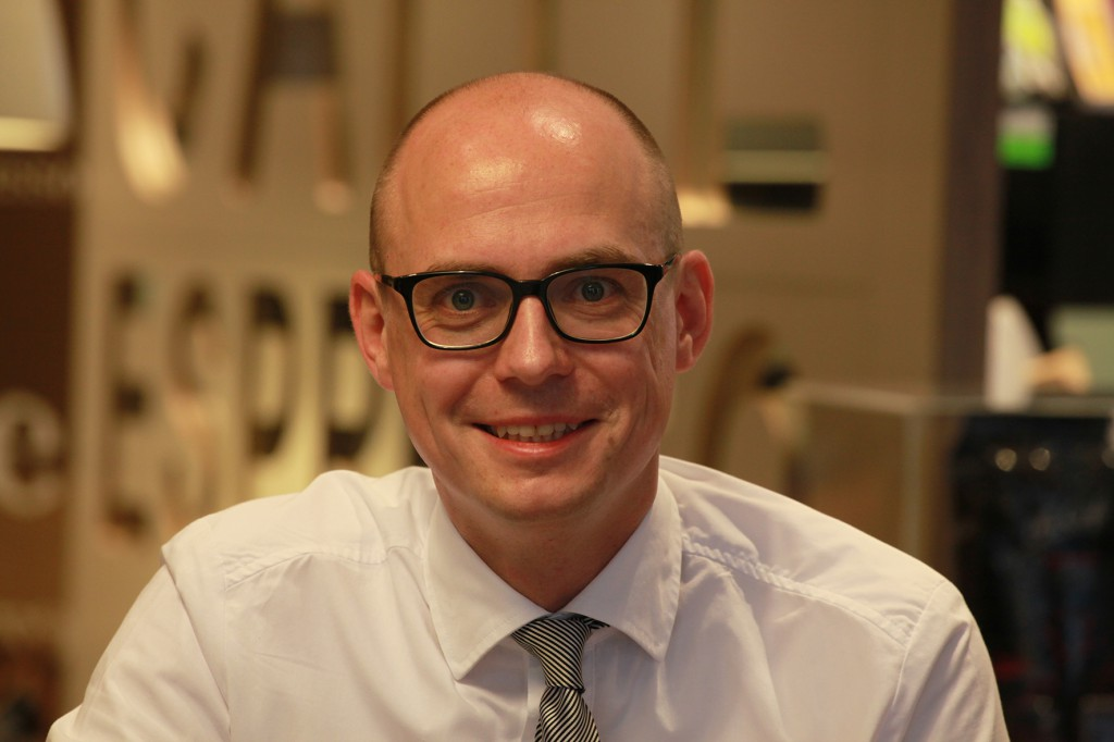 Begeistert von der Qualität der Schnieder Outdoor-Möbel: Stephan Jagalla