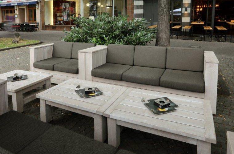 Outdoor-Lounge-Möbel für König Pilsener Bierhaus in Koblenz