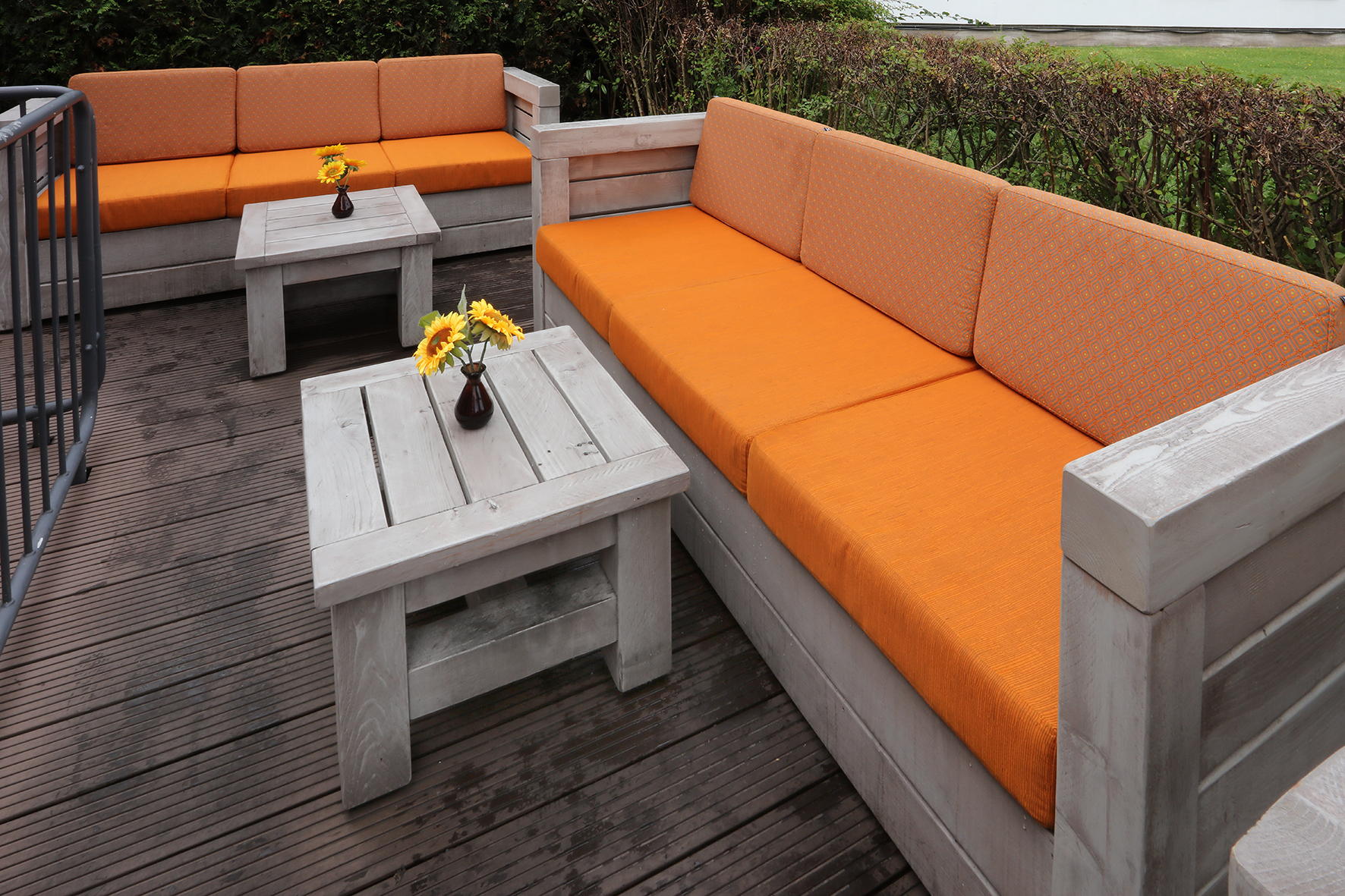 Zur Pflege von Outdoor-Möbeln