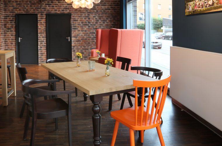 Bäckereieinrichtung ganz locker mit Community-Table