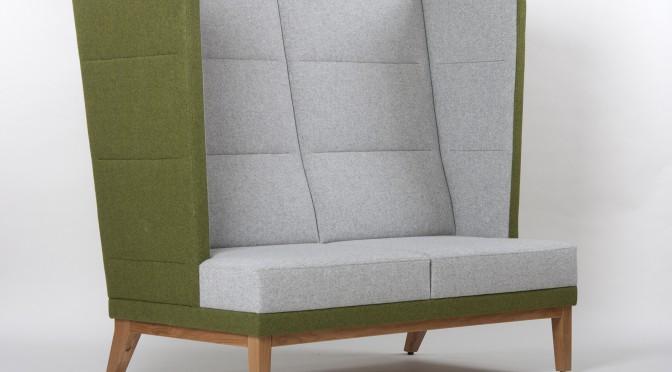 Ohrensofa 2-Sitzer, Ohren Sessel Bank 40900
