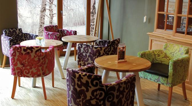 Wohnliche Bäckerei-Cafés