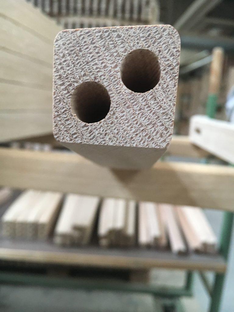 Möbelproduktion handwerkliche Verbindungen Stuhl