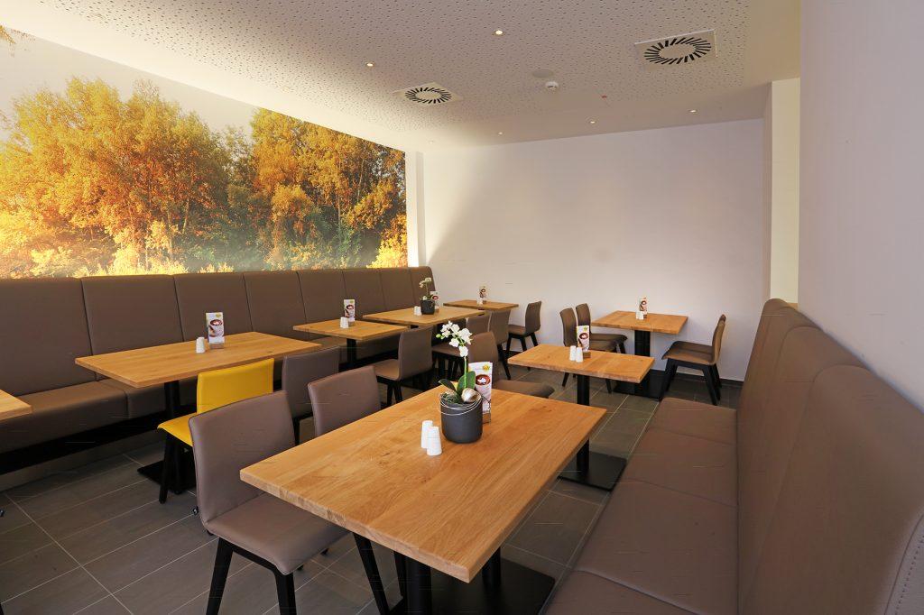 Vollpolsterbank Gastronomiebank, Gastronomieeinrichtung