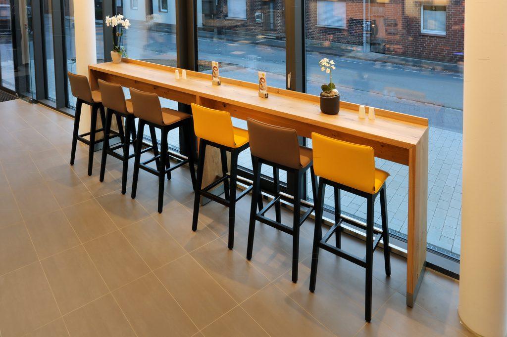 Windowboard, Fenstertisch, Stehtisch, Restaurant & Café