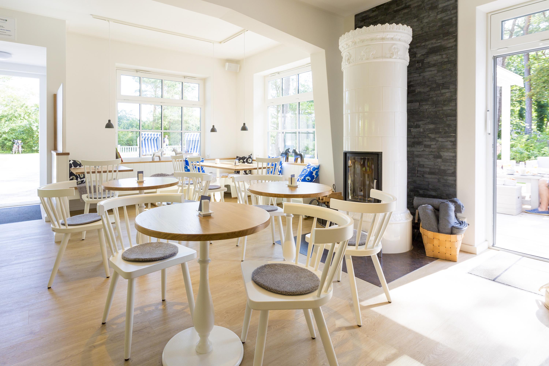 Skandinavisches Café mit viel Atmosphäre