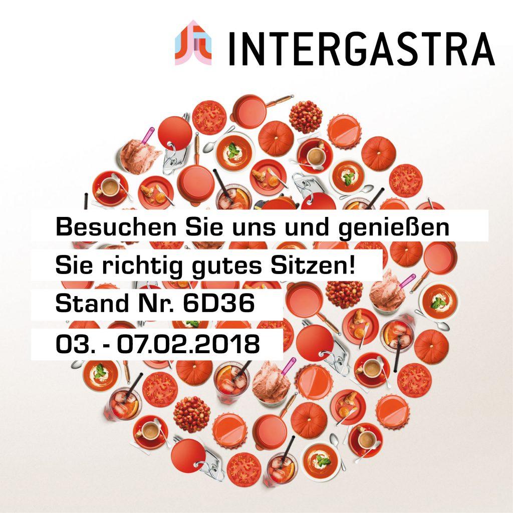 Besuchen Sie uns auf der Intergastra in Stuttgart