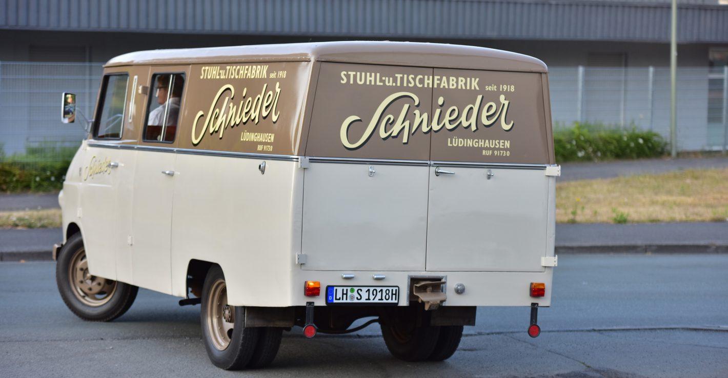 Gewaltig Schnieder Stuhlfabrik Galerie Von Opel Blitz Oldtimer 100 Jahre