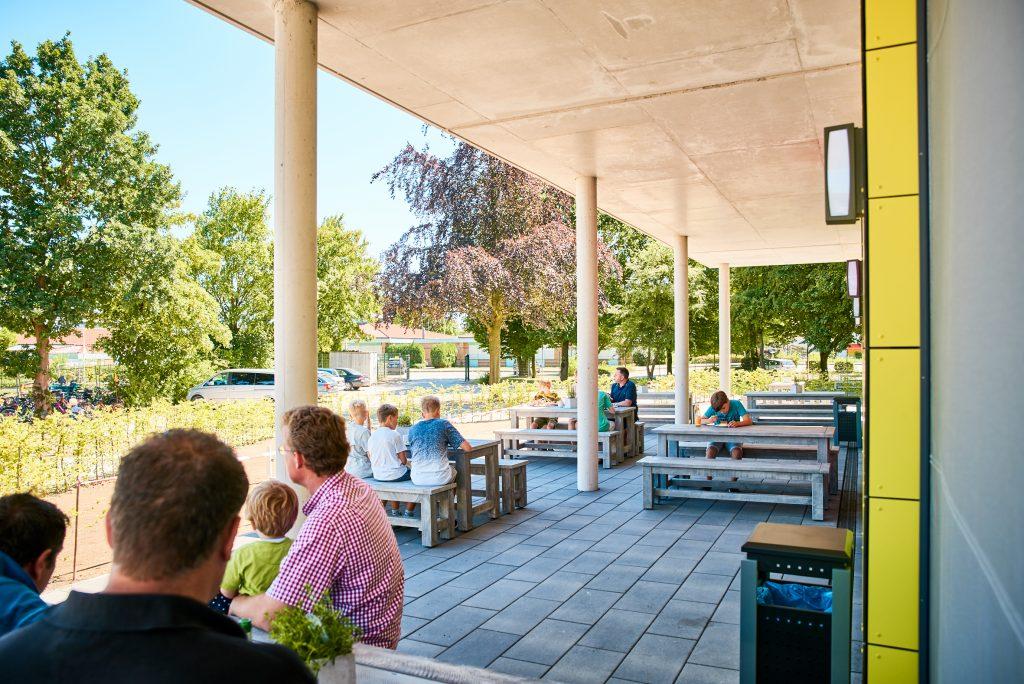 Outdoorbereich Jugenherberge Nottuln