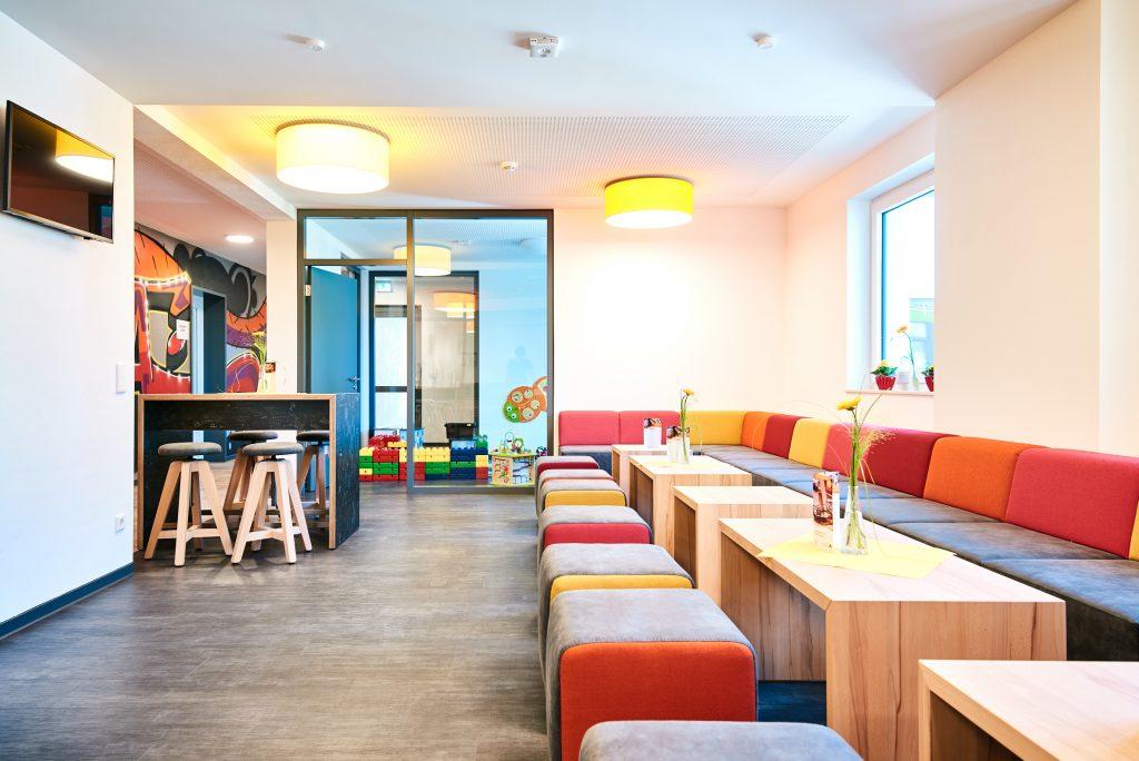 Loungebereich Jugendherberge Nottuln