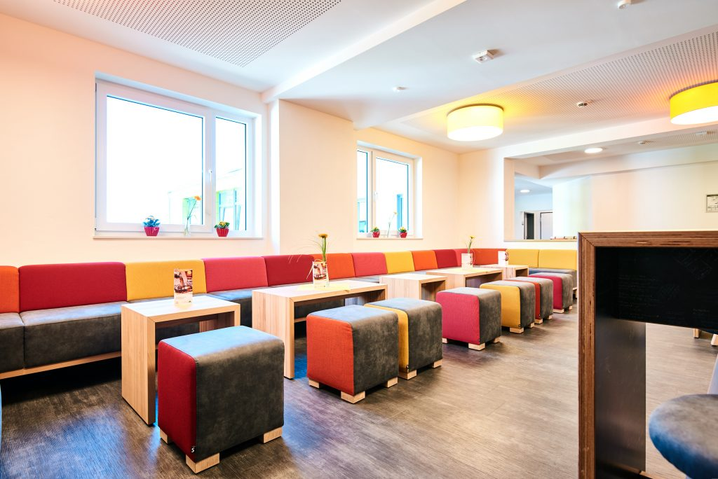 Einrichtung Loungebereich Jugendherberge Nottuln