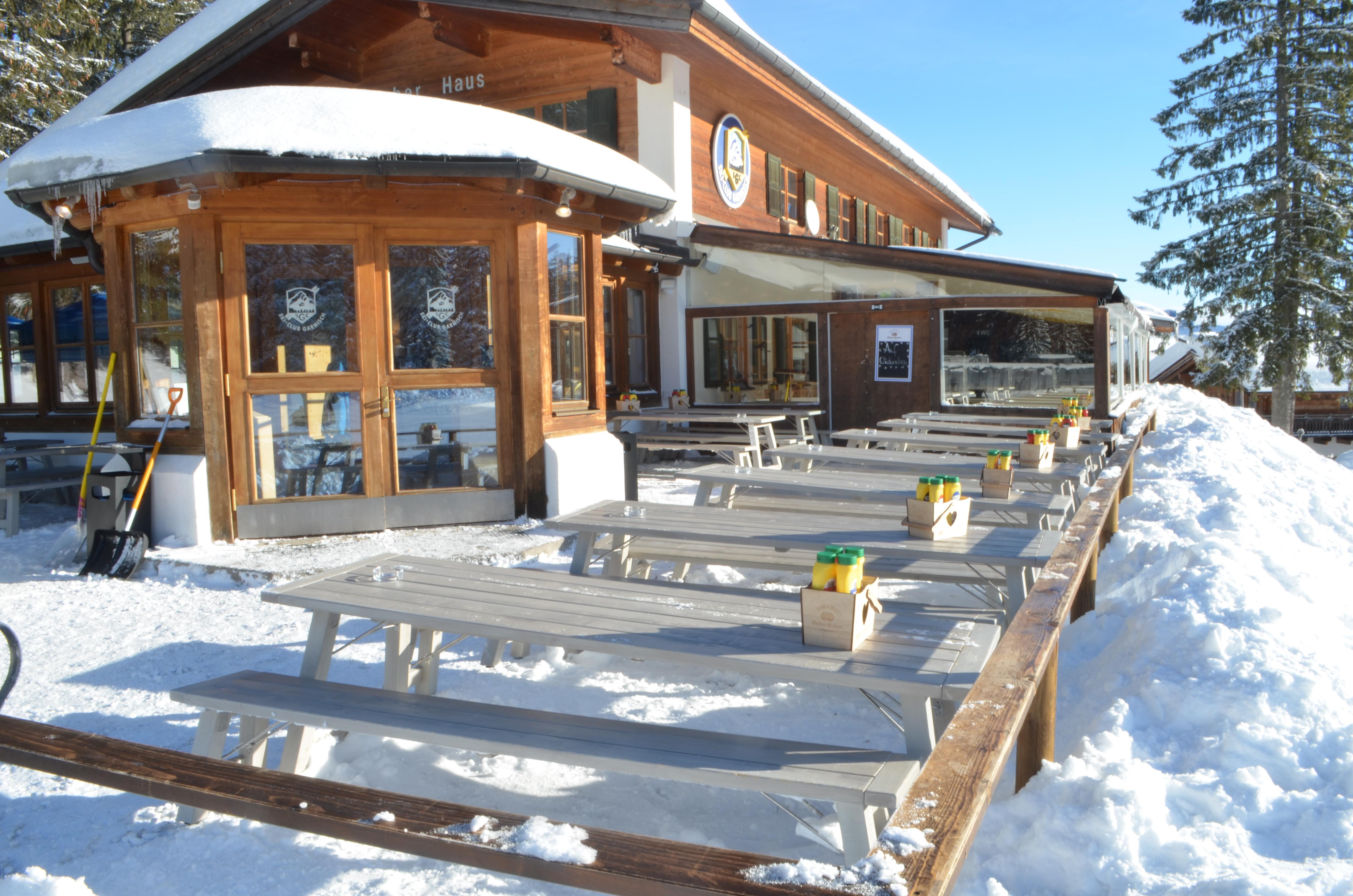 Terrassenmöbel, Restaurant Garmischer Haus Bergstation Stuhlfabrik Schnieder