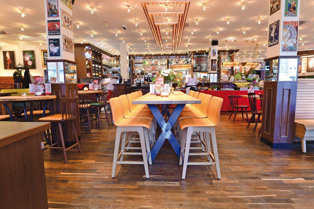 Gastronomieeinrichtung  Café Extrablatt Lüdinghausen