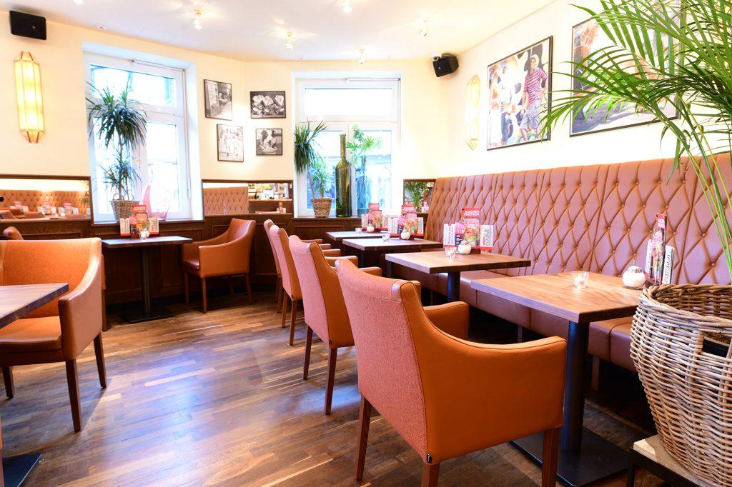 Einrichtung Café Extrablatt Lüdinghausen