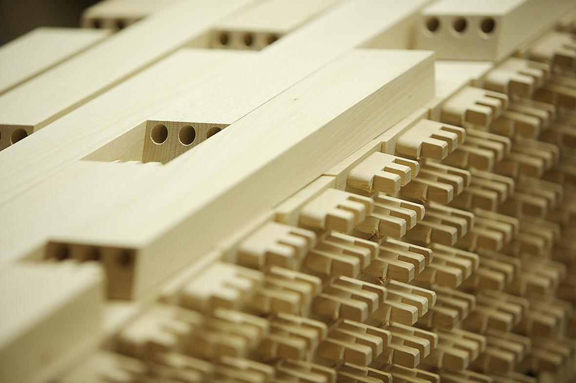 Möbelbau, Produktion Stuhlfabrik Schnieder