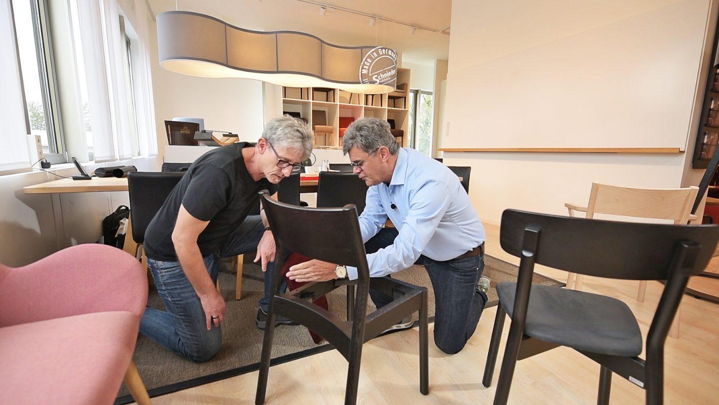 Produktentwicklung Stuhlfabrik Schnieder