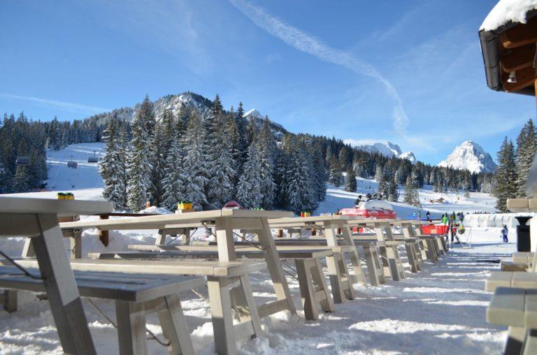 Zugspitze Außengastronomie Terrassenmöbel klappbar