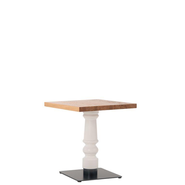 Tisch 30272, gedrechselte Säule, Gastronomie-Tisch