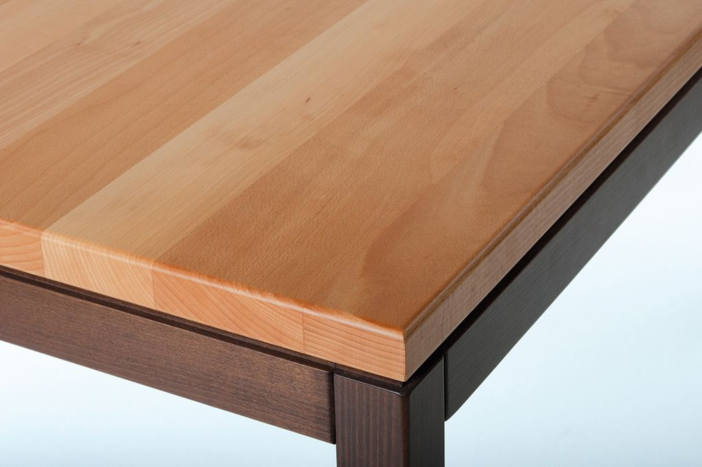Tischplatte 35 mm Buche, Massivholz