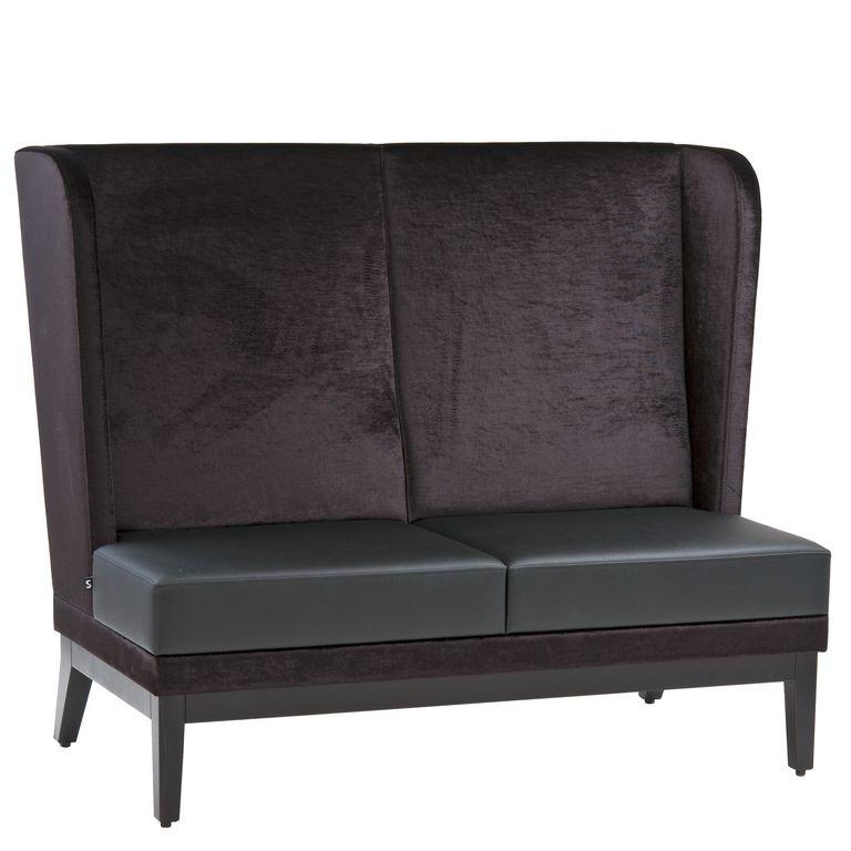 Ohren Sofa 40921, Zweisitzer, 2-Sitzer, Gastronomie Möbel