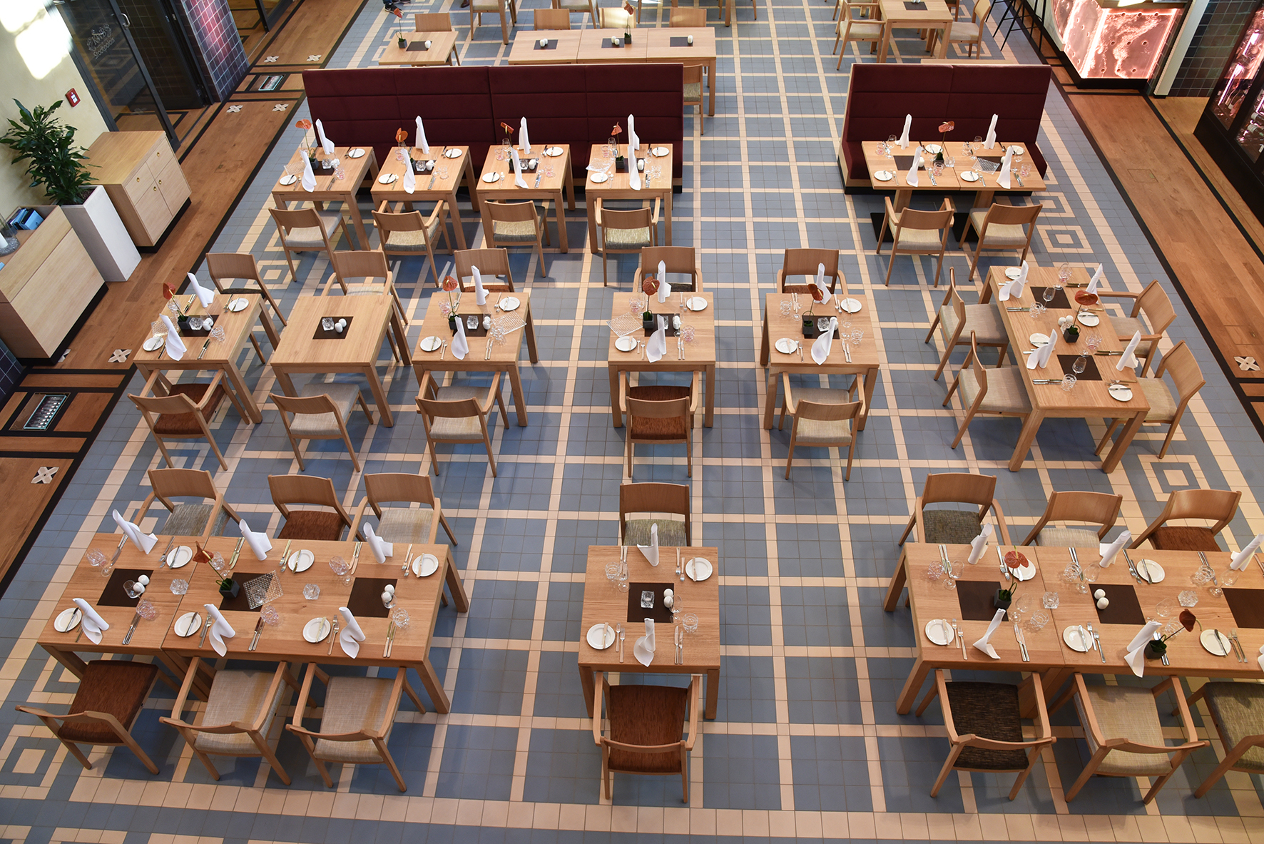 Restauranteinrichtung Stadtpalais Köln