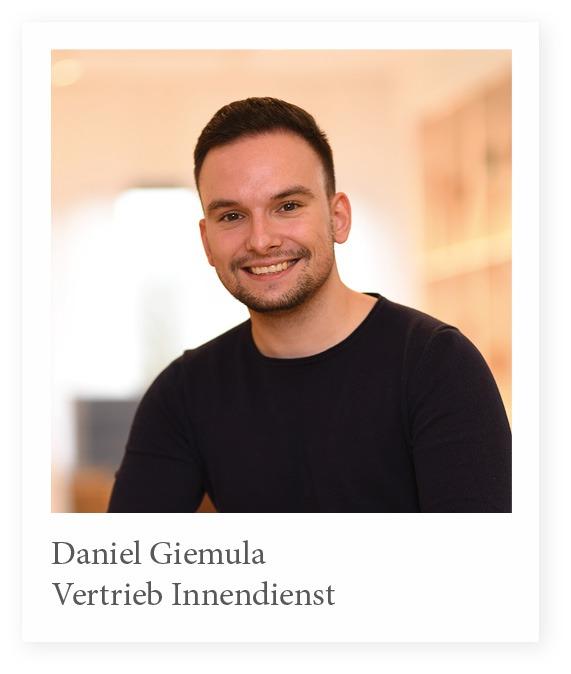 Vertrieb Innendienst Daniel Giemula Stuhlfabrik Schnieder