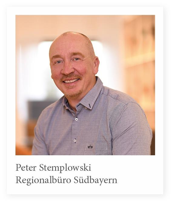 Vertriebsmitarbeiter Peter Stemplowski Stuhlfabrik Schnieder