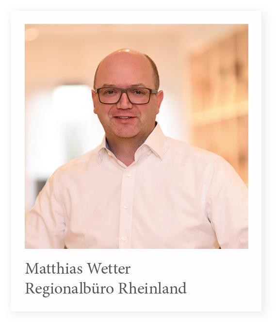 Vertriebsmitarbeiter Matthias Wetter Stuhlfabrik Schnieder