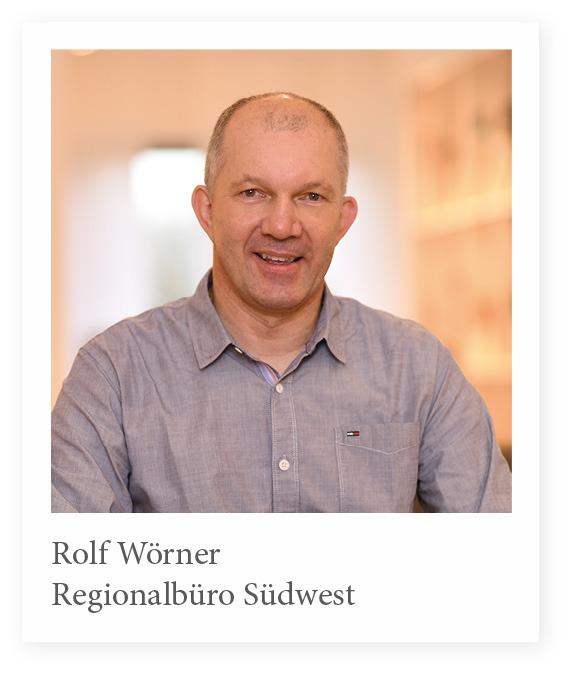 Vertriebsmitarbeiter Rolf Wörner Stuhlfabrik Schnieder