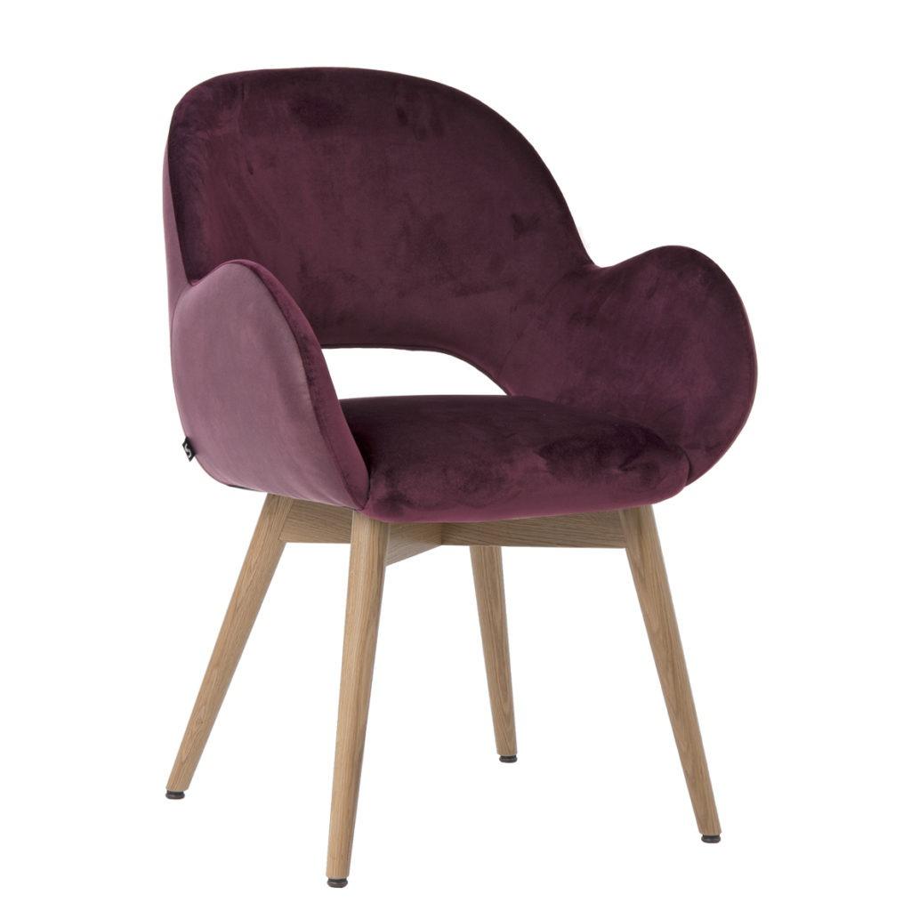 Polsterstuhl mit Armlehnen 12519-1 Stuhlfabrik Schnieder