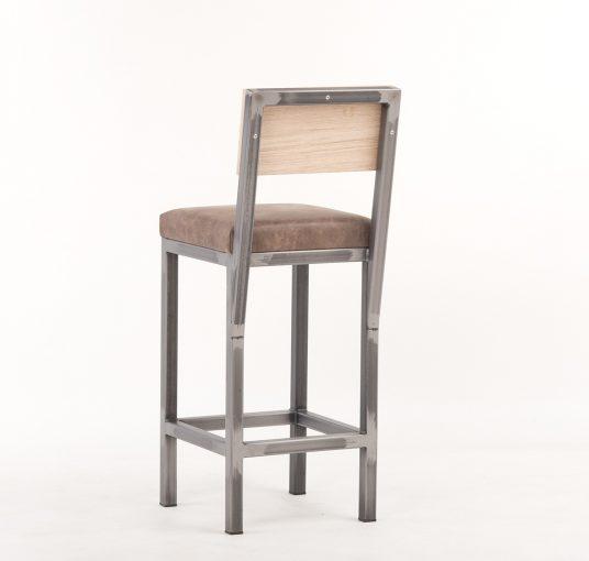 Gastronomie Hocker Marta 10560-A, Sitzhöhe 65 cm, Industriestyle, Hocker rustuka