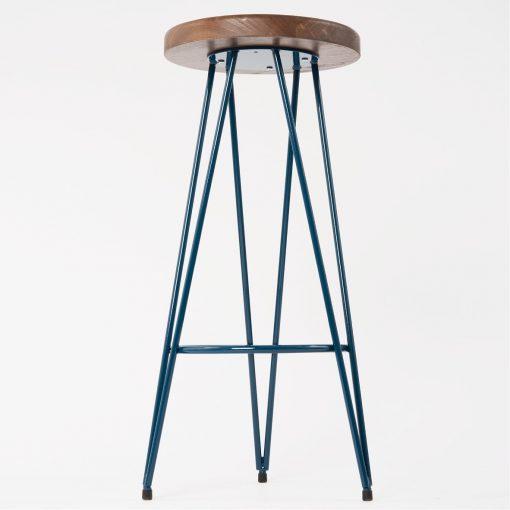 Hocker Till Holz Sitz Industrie-Look Stuhlfabrik Schnieder