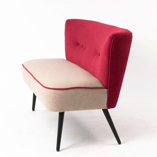 2-Sitzer Fritz, Retro Sessel, Zweisitzer, Möbel, Sofa