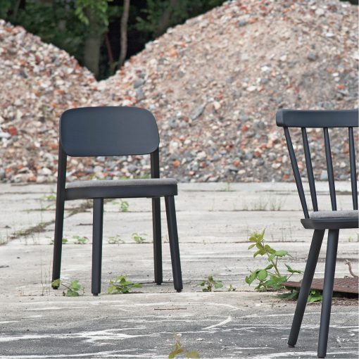 Stapelstuhl Luke 11710 Holzstuhl stapelbar Stuhlfabrik Schnieder