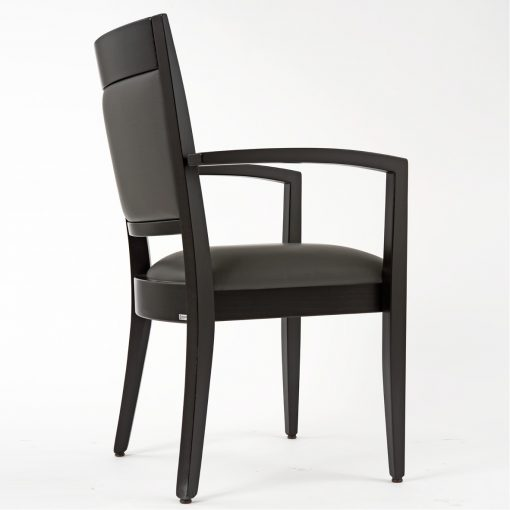 Stapelstuhl mit Armlehnen, Stuhl stapelbar, Gastronomiestuhl