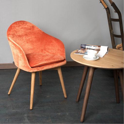 Sessel Tina 12518-1 Lounge Tisch 30018 Gastro Möbel Stuhlfabrik Schieder