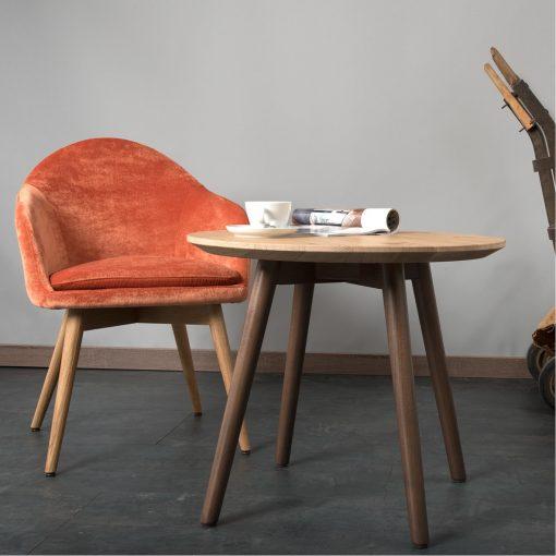 Sessel Tina 12518-1 Lounge Tisch 30018 Möbel Stuhlfabrik Schnieder
