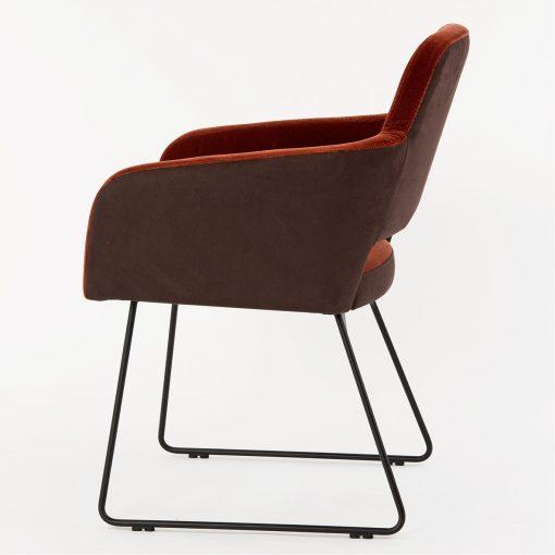 Sessel Marvin 12520-4 Polsterstuhl mit Armlehnen Stuhlfabrik Schnieder