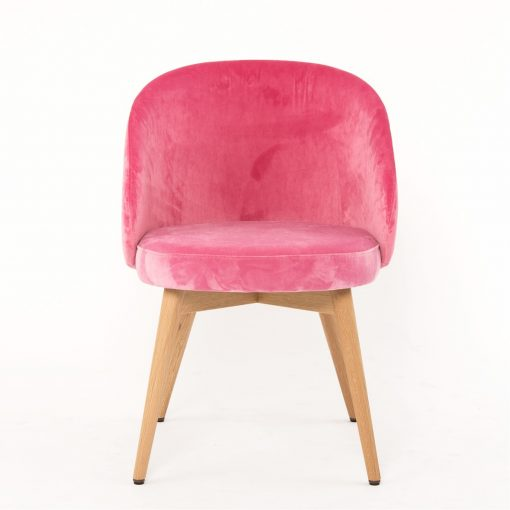 Polsterstuhl Maria rosa Gastronomie Möbel Stuhlfabrik Schnieder