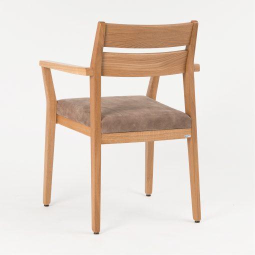 Stapelstuhl mit Armlehnen 12792 Jakob, Gastro-Stuhl stapelbar