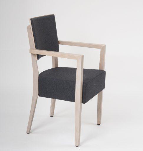 Gastronomie Stuhl mit Armlehnen 12869, Holzstuhl, Möbel,