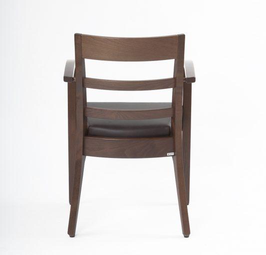 Stapelstuhl Arezzo, Stuhl mit Armlehen, Gastro-Stuhl