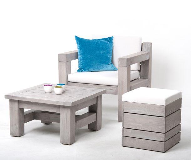 Terrassentisch, Terrassen Möbel, Außengastronomie, Sessel 12986 Outdoor-Möbel, Outdoormöbel, Sofa mit Polster