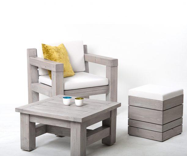 Sessel 12986 Outdoor-Möbel, Outdoormöbel, Sofa mit Polster