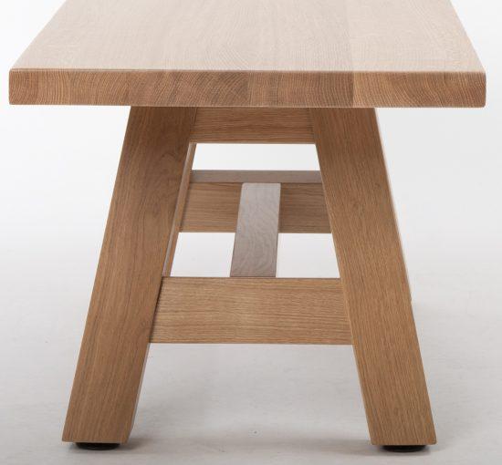 Holzbank 40180, Gastro Möbel, Gastronomieeinrichtung